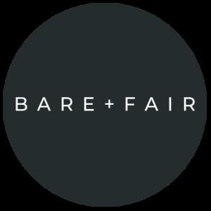 Bare and Fair logo