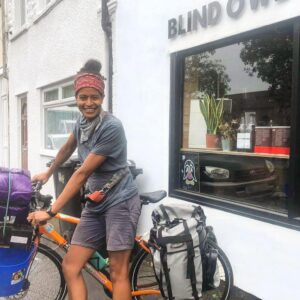 Blind Owl Coffee bike delivery