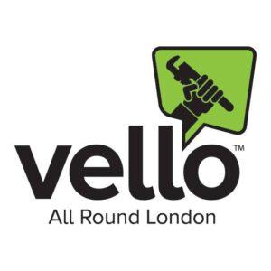 Vello plumbers on a bike