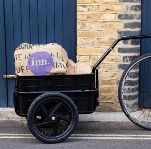 inn Zero waste groceries delivered by bike