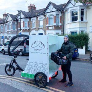 Groceries delivered by bike Docklands