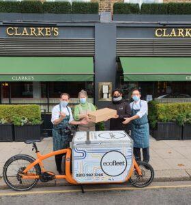 sally clarke delivery by cargo bike