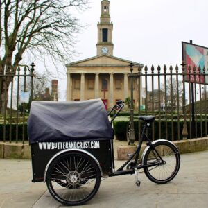 Bread delivered by cargo bike London