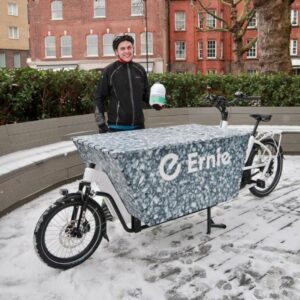 Coffee delivered by cargo bike