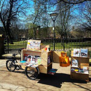 Catalog cargo bike bookshop Manchester