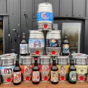 beer delivered by cargo bike Colchester