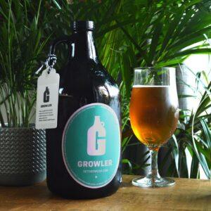 Beer delivered by bike Peckham London