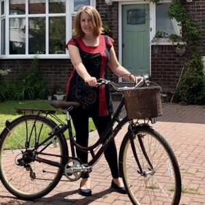Natural skincare delivered by bike