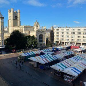Mecommi Cambridge Market deliveries by bike
