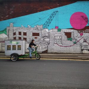 Regather veg box scheme delivered by bike in Sheffield