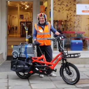 Tool library with delivery by cargo bike in Bath