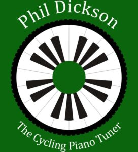 The Cycling Piano Tuner on a bike London
