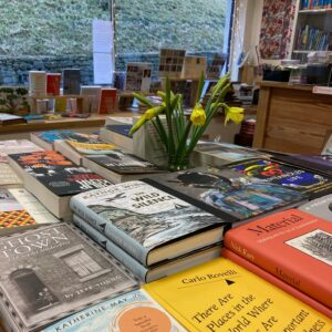 books delivered by bike Stroud