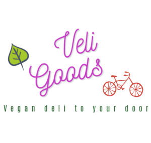 Vegan cheese and charcuterie delivered by bike in Bristol