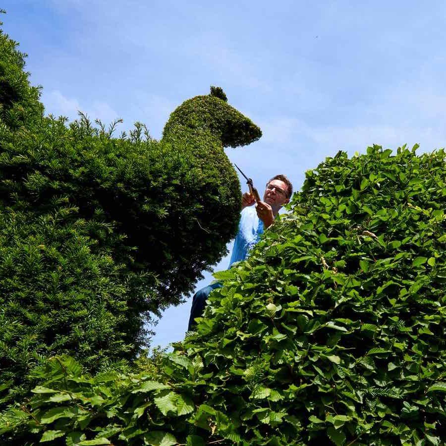 gardener on a bike Chelmsford