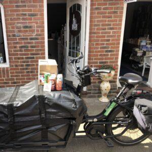 beer delivered by cargo bike