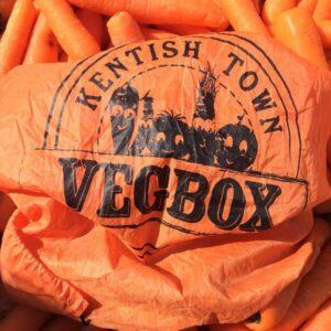 veg delivered by bike London