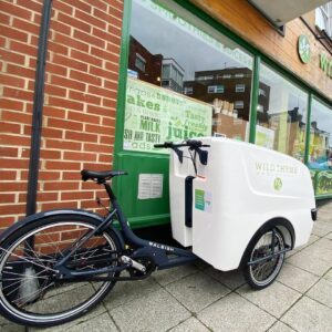 wholefoods delivered by cargo bike