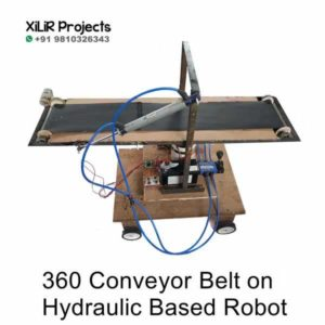 360 Conveyor Belt on Hydraulic Based Robot Engineering Project