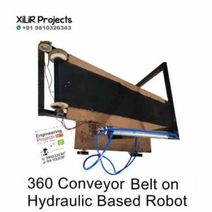 360 Conveyor Belt on Hydraulic Based Robot