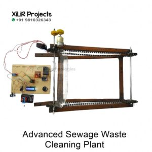 Advanced Sewage Waste Cleaning Plant prototype