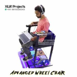 Advanced Wheel Chair B.Tech Project