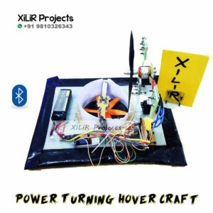 Bluetooth Controlled Power Turning Hover Craft Project