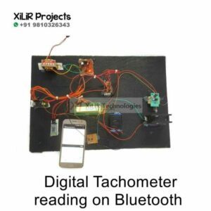 Digital Tachometer reading on Bluetooth