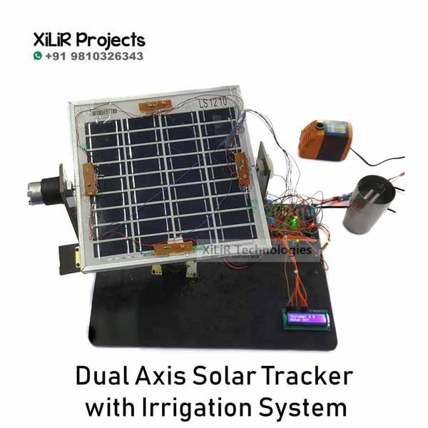 Dual Axis Solar with Irrigation System
