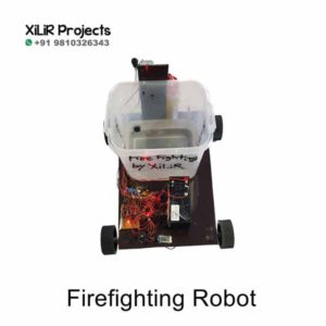 Firefighting Robot B.Tech Project
