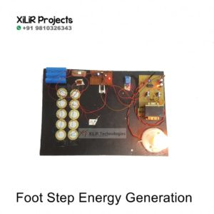 Foot Step Energy Generation Project