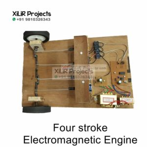 Four strokes Electromagnetic Engine B.Tech Project