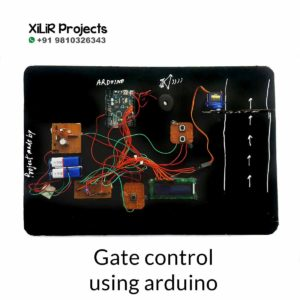 Gate control Project using ARDUINO