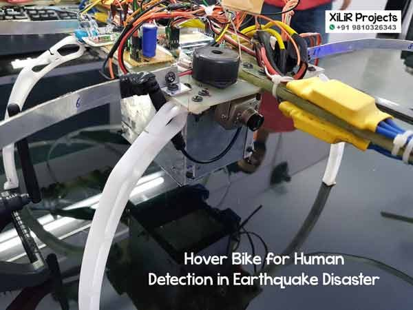 Hover Bike Project for Human Detection in Earthquake Disaster