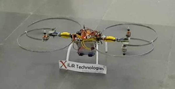 Hover Bike for Human Detection in Earthquake Disaster B.Tech Engineering Project