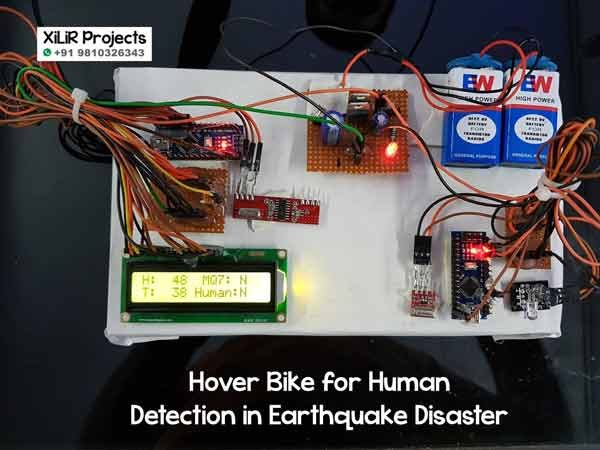Hover Bike for Human Detection in Earthquake Disaster Project