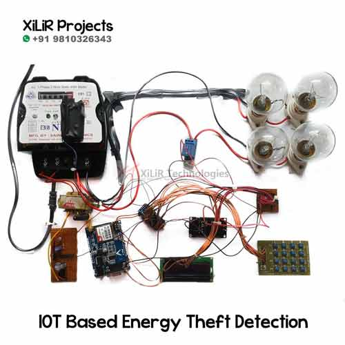 IOT Based Energy Theft Detection