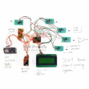 IoT Based Smart Parking System Engineering Project