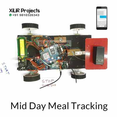 Mid Day Meal Tracking Project System