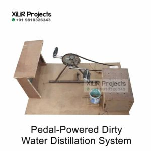 Pedal Powered Dirty Water Distillation Device
