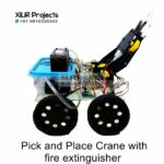 Pick-and-Place Crane with fire extinguisher Engineering Project