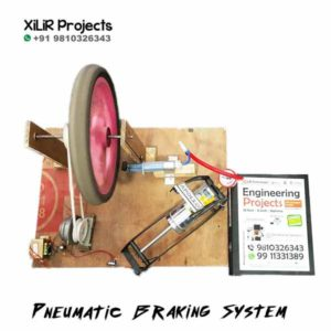 Pneumatic Braking System B.Tech Project