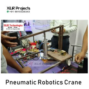 Pneumatic Robotics Crane