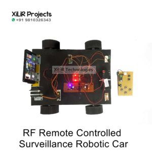 RF Remote Controlled Surveillance Robotic Car