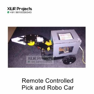 Remote Controlled Pick and Robo-Car