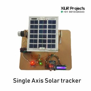Single Axis Solar Tracker Project