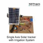 Single Axis Solar tracker with Irrigation System
