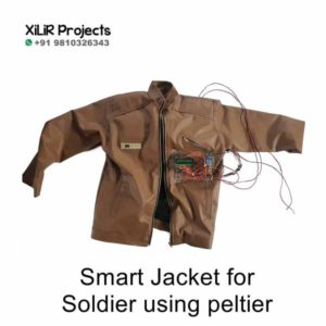 Smart Jacket for Soldier using peltier Engineering Project
