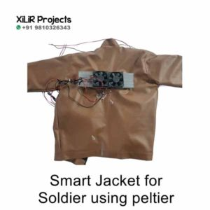 Smart Jacket for Soldier using peltier Project