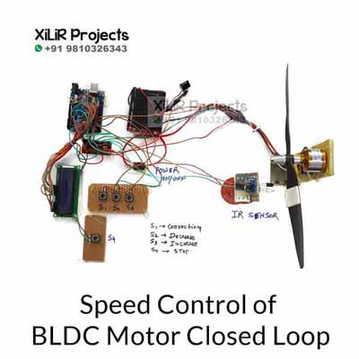 Speed Control of BLDC Motor Closed Loop Project